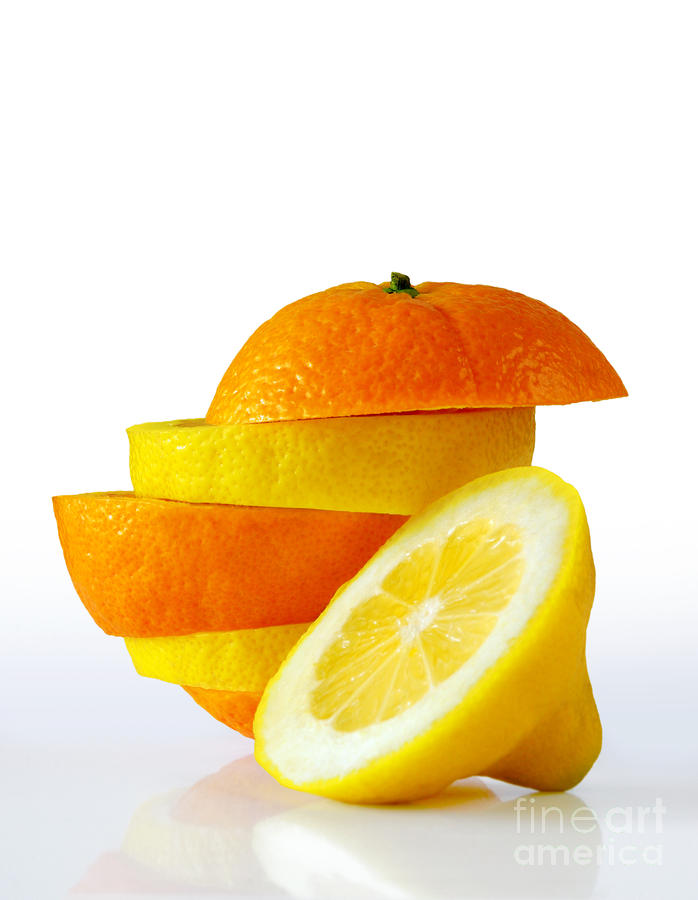 Citrus Slices Photograph