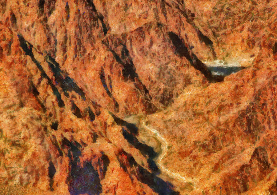 City - Arizona - Grand Canyon - A Look Into The Abyss Photograph