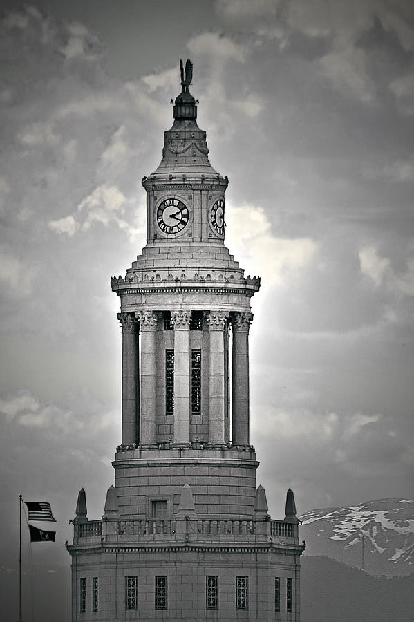 City And County Of Denver Building Photograph  - City And County Of Denver Building Fine Art Print