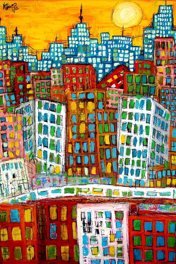 City Bones Painting