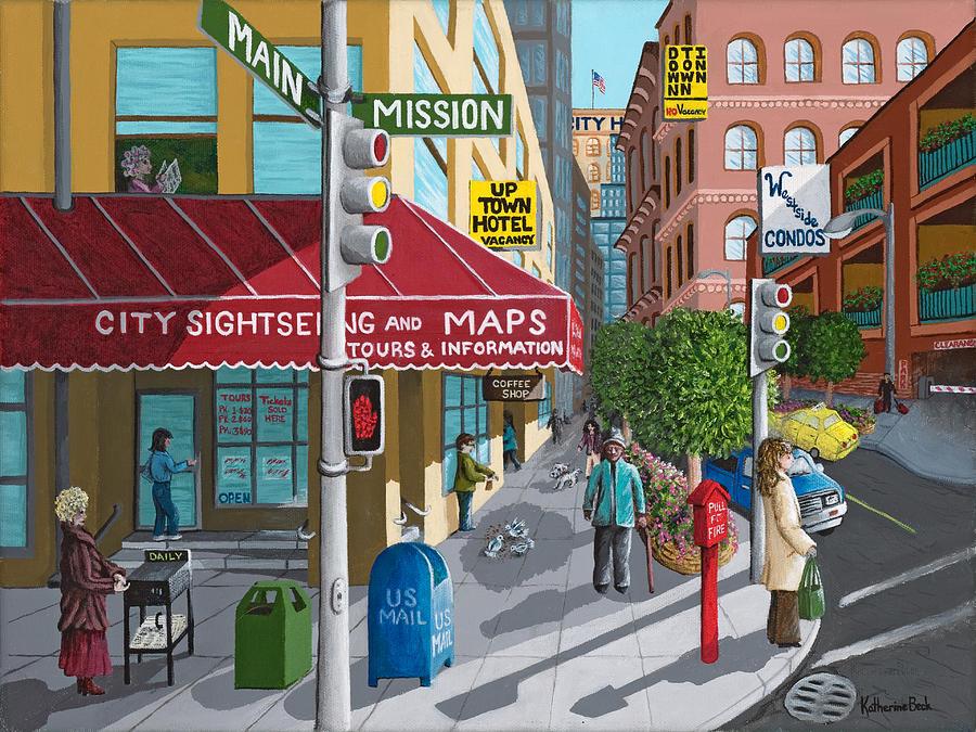 City Corner Painting