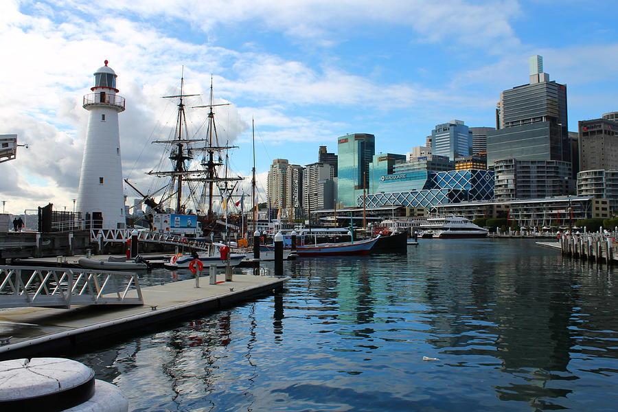 City Docks Photograph
