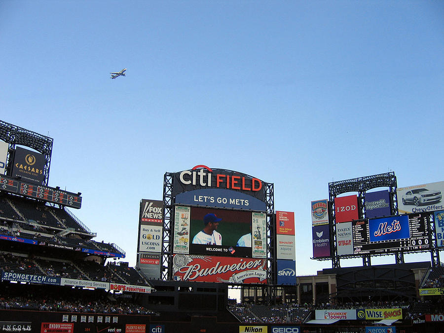 New York Photograph - City Field At Queens by Suhas Tavkar