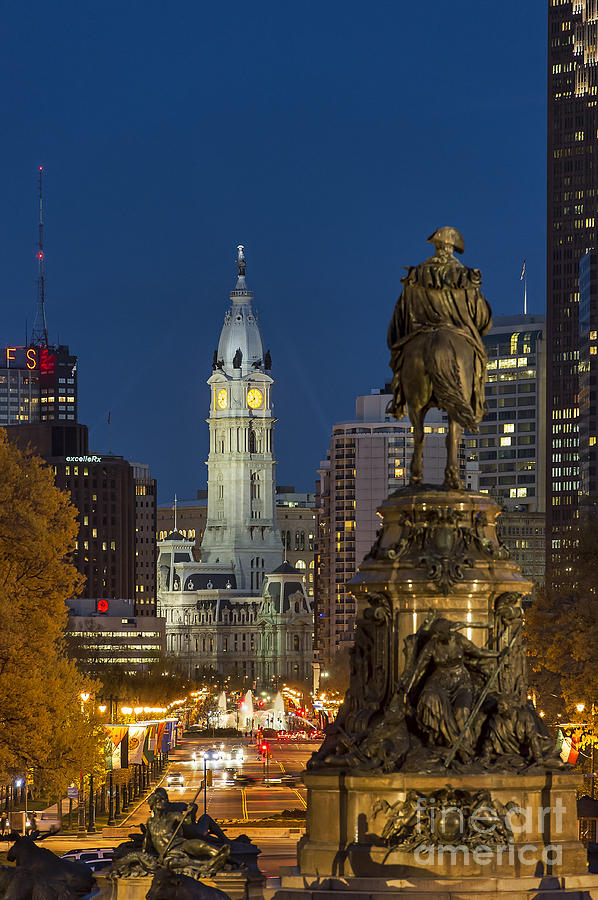 City Hall Philadelphia Photograph