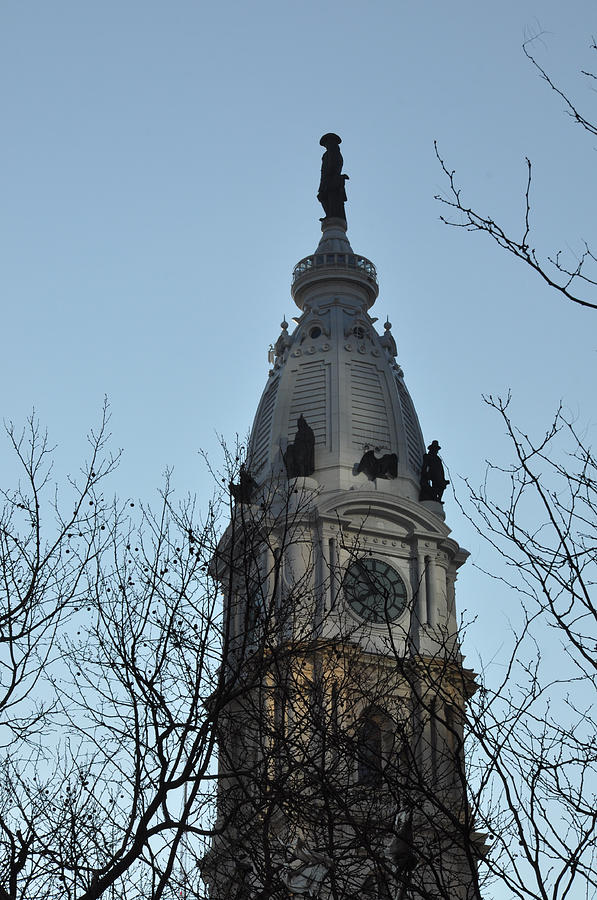 City Hall Tower Philadelphia Photograph  - City Hall Tower Philadelphia Fine Art Print