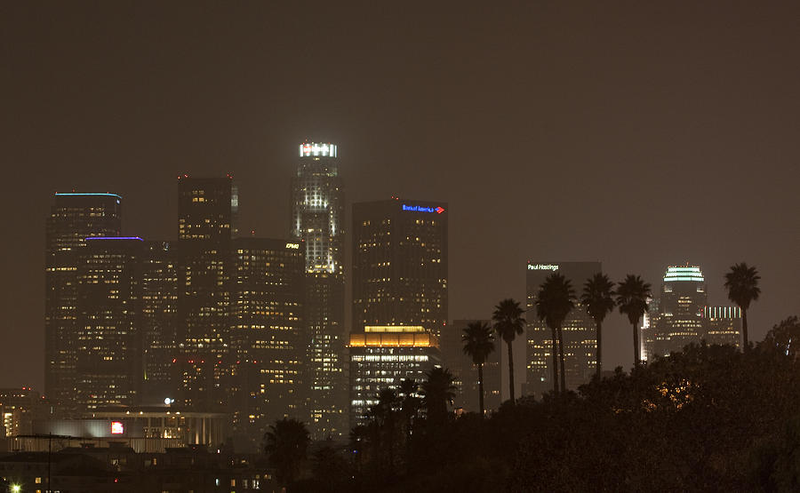 City Of Angels Night Photograph