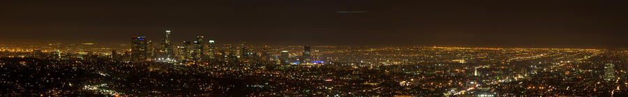 City Of Angels Panorama Photograph