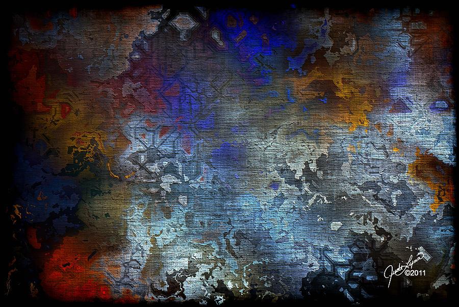 Digital Painting - City Of Man by The Art Of JudiLynn