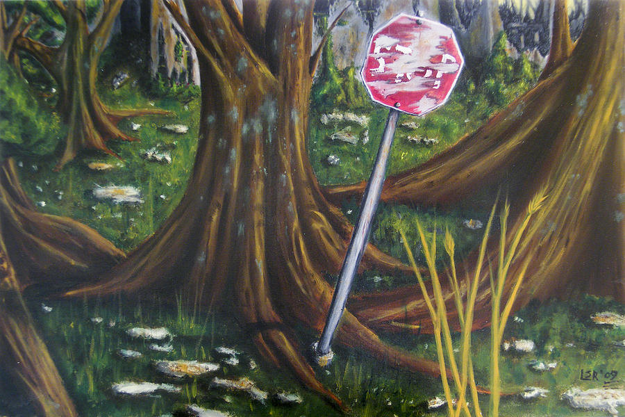 City Park Painting