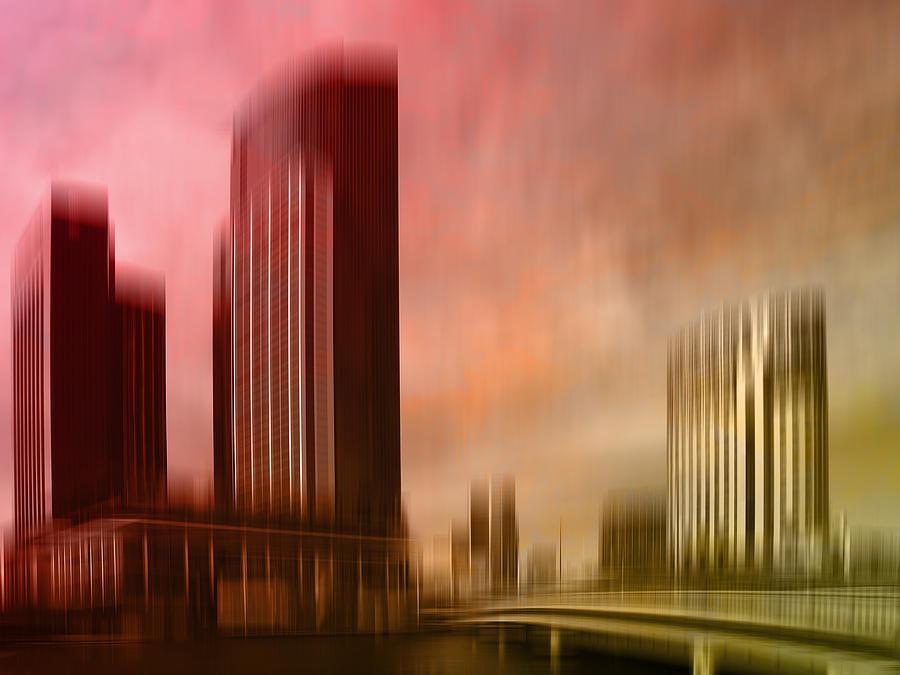 City Shapes Melbourne II Digital Art