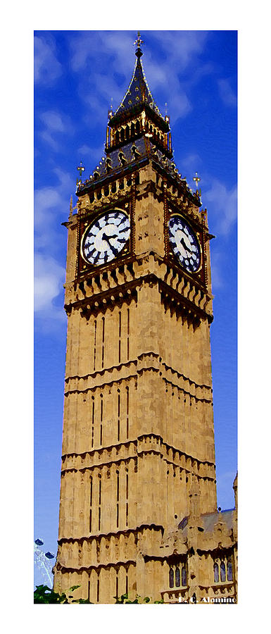 London Photograph - Citymarks London by Roberto Alamino