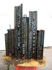 Cityscape 5 Sculpture