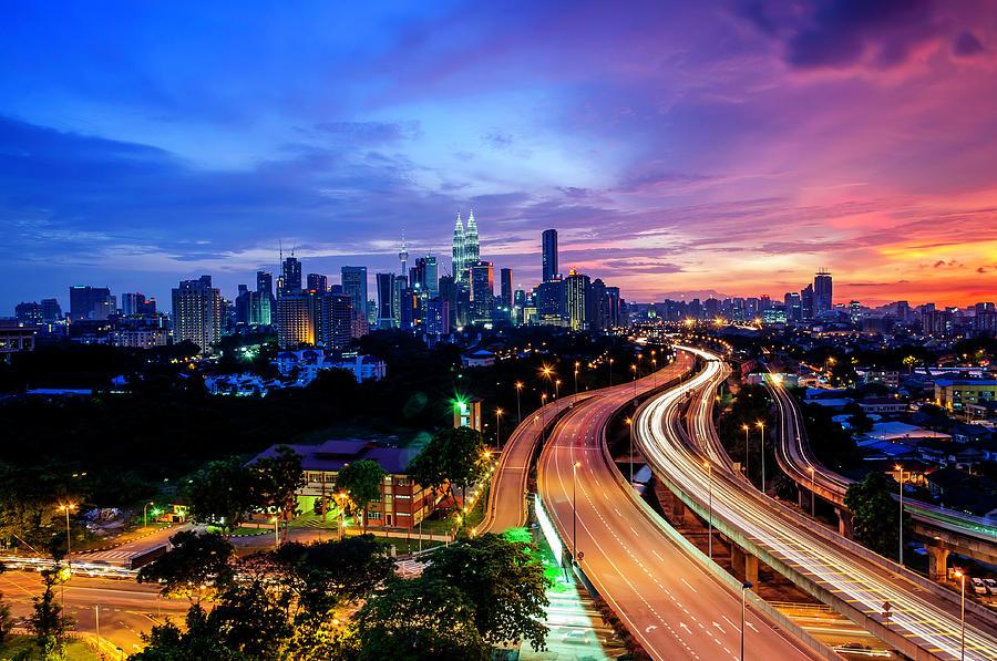 Cityscape Of Kuala Lumpur Photograph