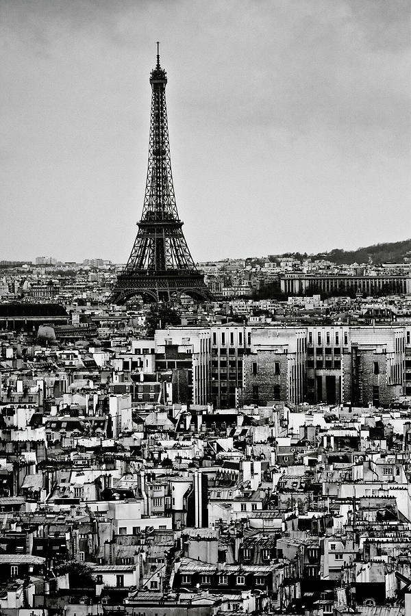 Cityscape Of Paris Photograph  - Cityscape Of Paris Fine Art Print