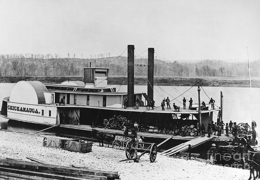 1863 Photograph - Civil War: Chickamauga by Granger