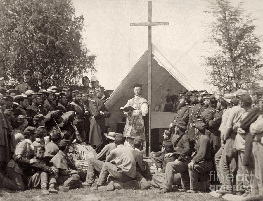 Civil War: Mass, 1861 Photograph