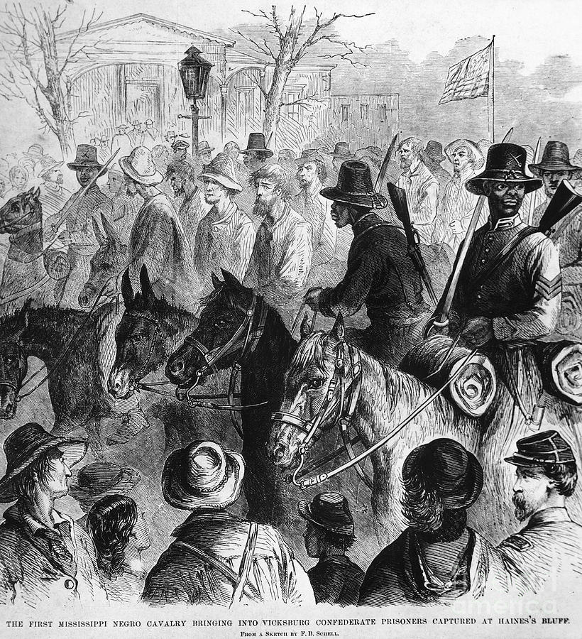 Civil War: Prisoner, 1864 Photograph