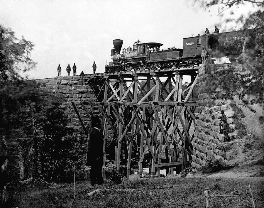 Civil War Train Photograph By Ken Smith