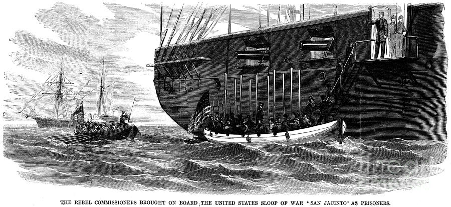trent affair What: a diplomatic crisis in which the us seized 2 confederates on a british ship on their way to ask for british aid the neutral british argued that the us violated.