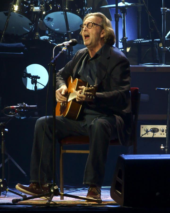 Clapton Acoustic Photograph