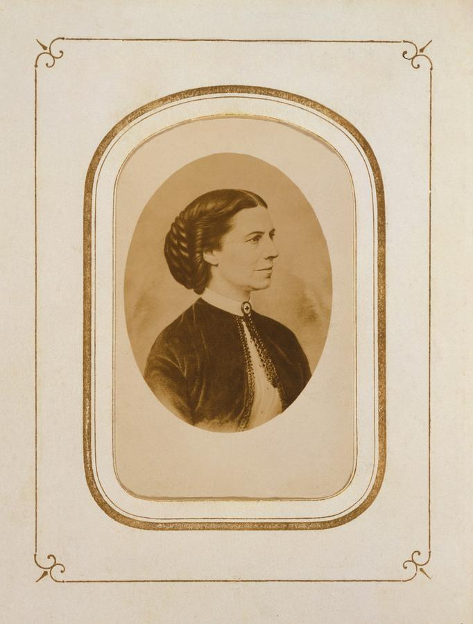 Clara Barton 1821-1912, At The End Photograph