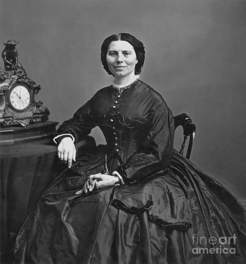Clara Barton (1821-1912) Photograph