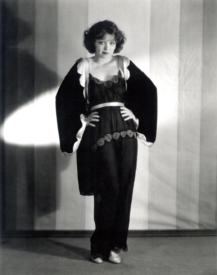 Clara Bow, Around 1929 Photograph  - Clara Bow, Around 1929 Fine Art Print