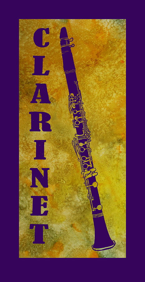 Clarinet Digital Art  - Clarinet Fine Art Print