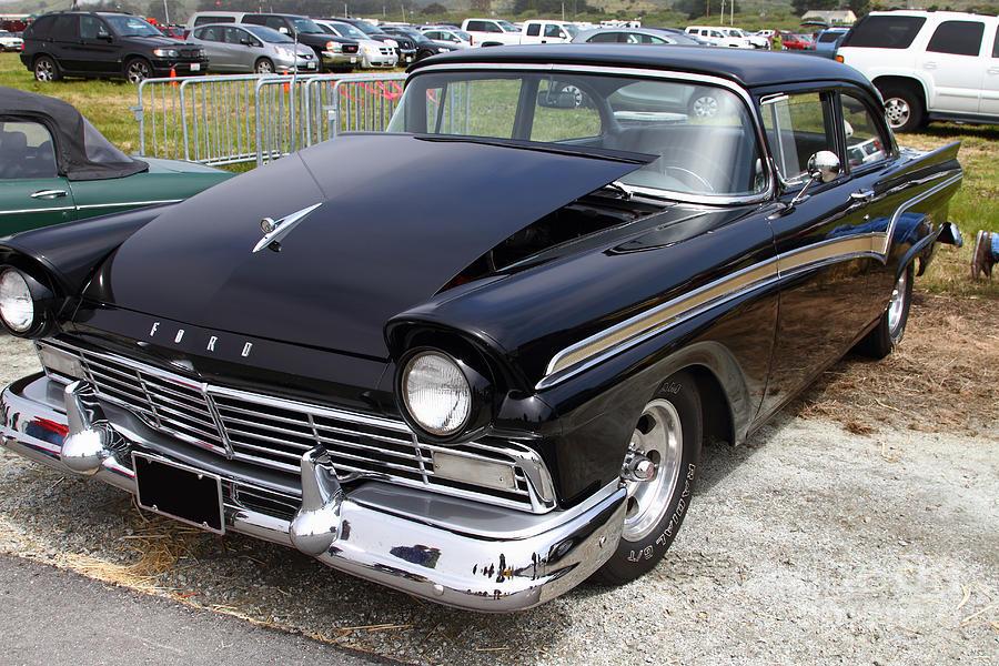 Classic Black Ford Dream Machine 7d15175 Photograph