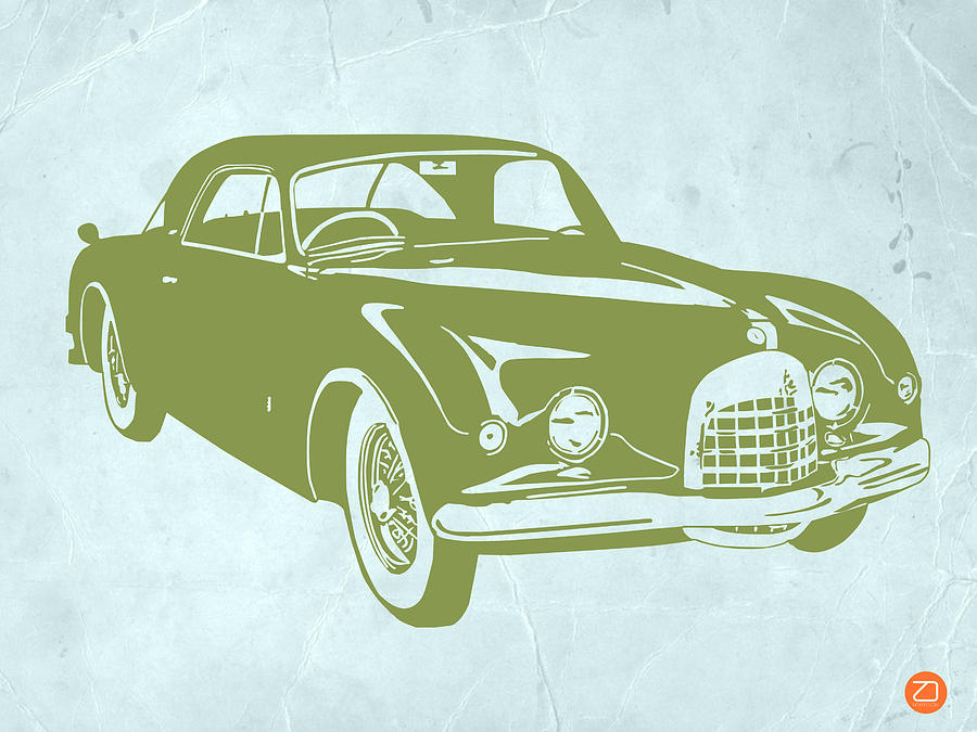 Drawing - Classic Car by Naxart Studio