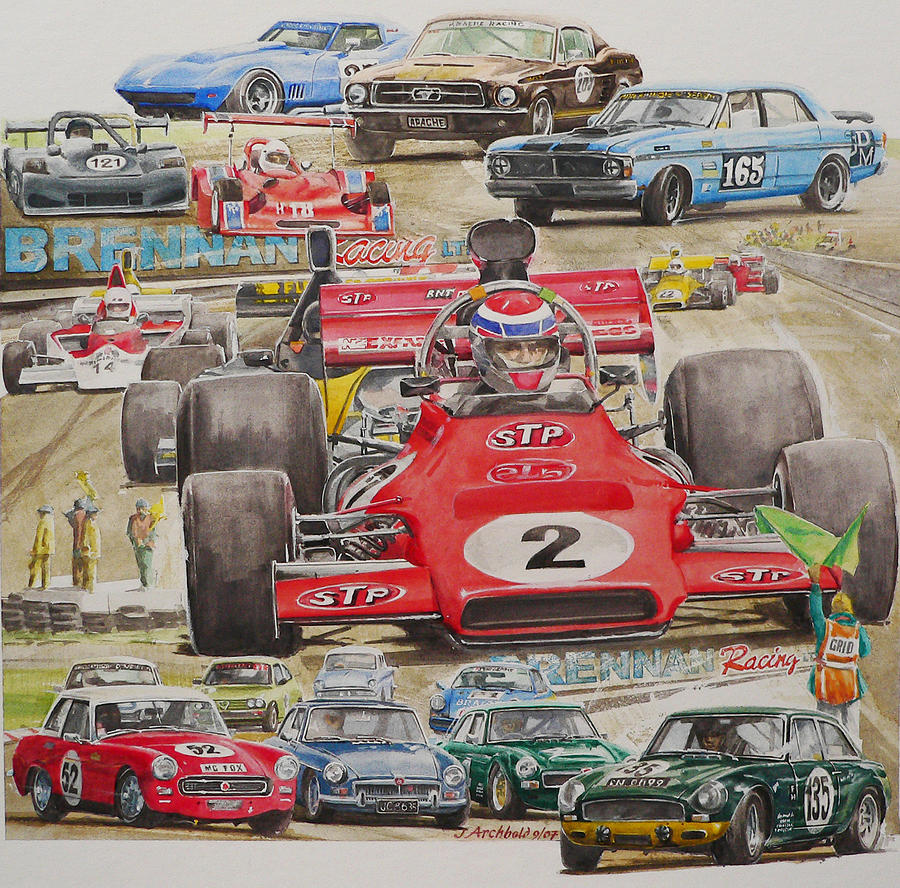 classic Racing 07 Painting