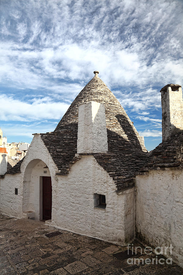 Classic Trullo In Alberobello Photograph  - Classic Trullo In Alberobello Fine Art Print