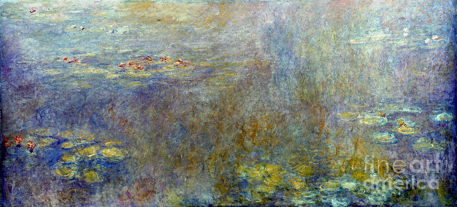 Claude Monet: Waterlilies Photograph  - Claude Monet: Waterlilies Fine Art Print