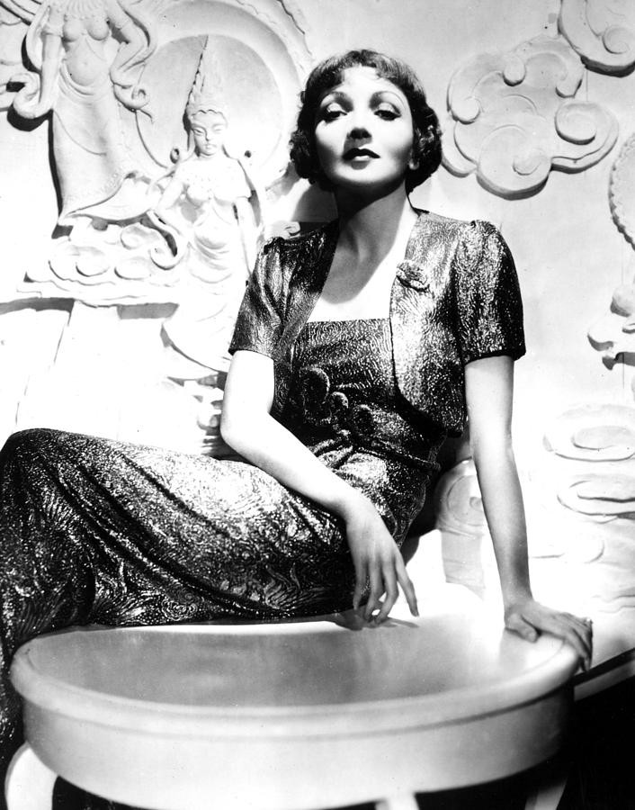 Claudette Colbert In The Early 1930s Photograph