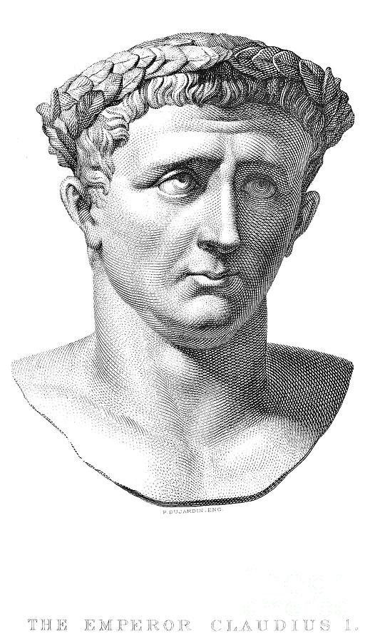 Claudius I (10 B.c.-54 A.d.) Photograph