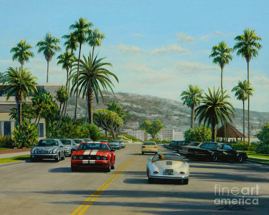 Cliff Drive Laguna Painting