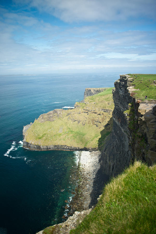 Cliff Of Moher 30 Photograph  - Cliff Of Moher 30 Fine Art Print