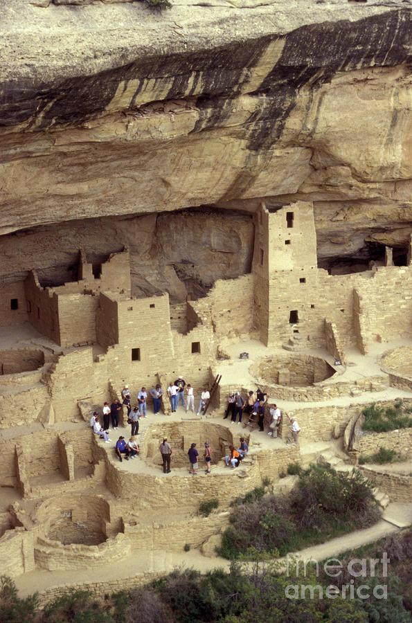 Cliff Palace Kiva Mesa Verde Photograph