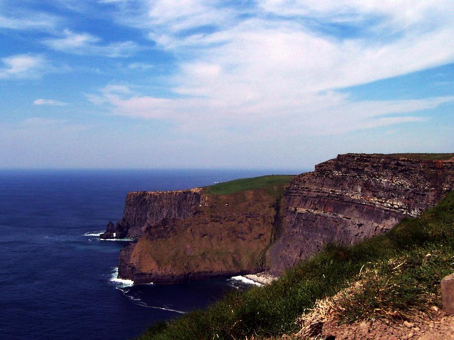 Cliffs Of Moher Aill Na Searrach Ireland Photograph