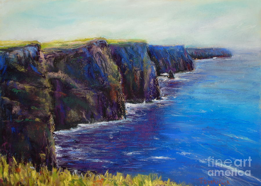 Cliffs Of Moher Pastel