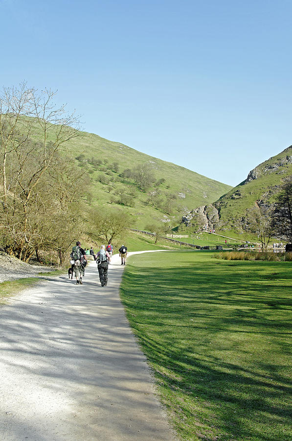 Climbers Return - Dovedale Photograph