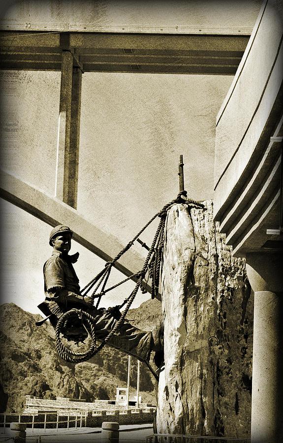 Arizona Photograph - Climbing High IIi by Malania Hammer