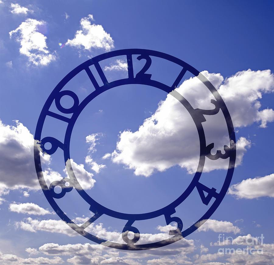 Clock Face Concept Photograph