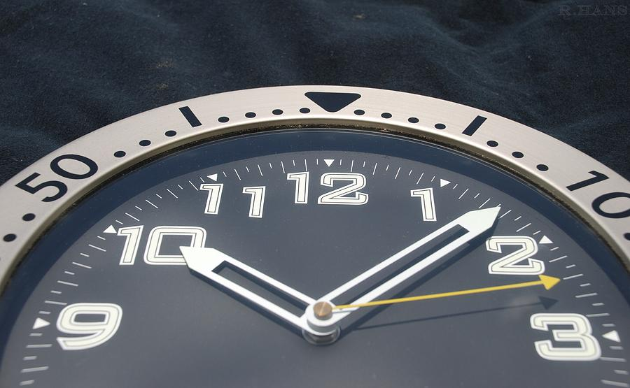 Clock Face Photograph