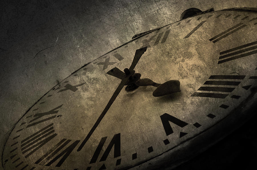 Clock Photograph  - Clock Fine Art Print