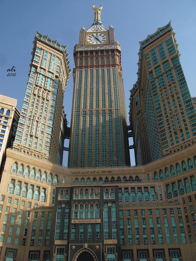 Clock Tower Building Makkah Photograph