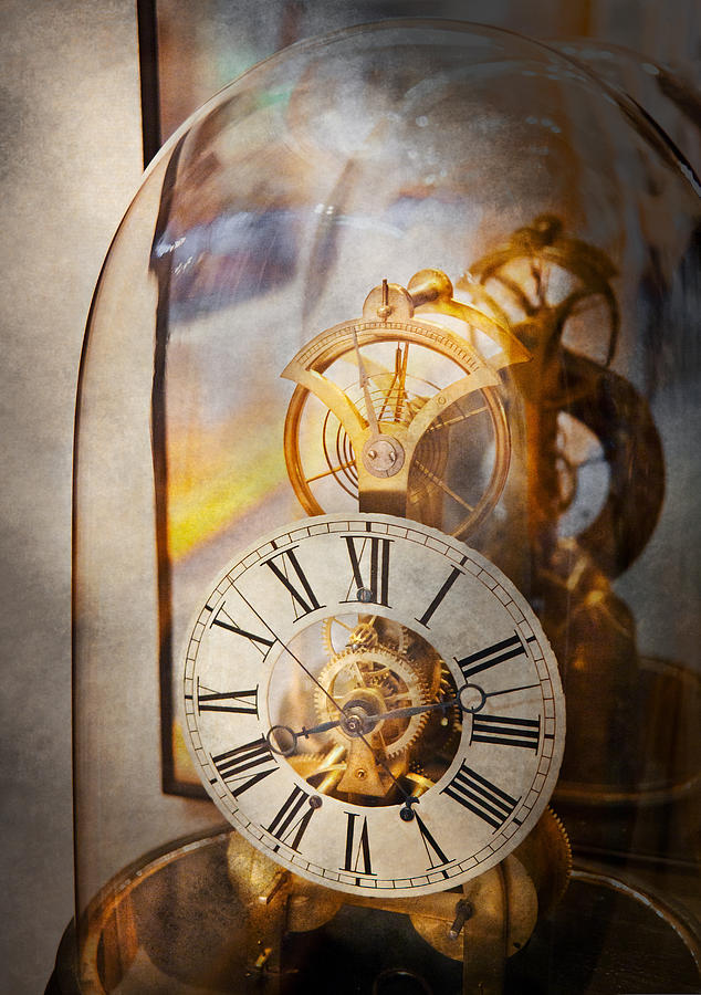 Clockmaker - A Look Back In Time Photograph  - Clockmaker - A Look Back In Time Fine Art Print
