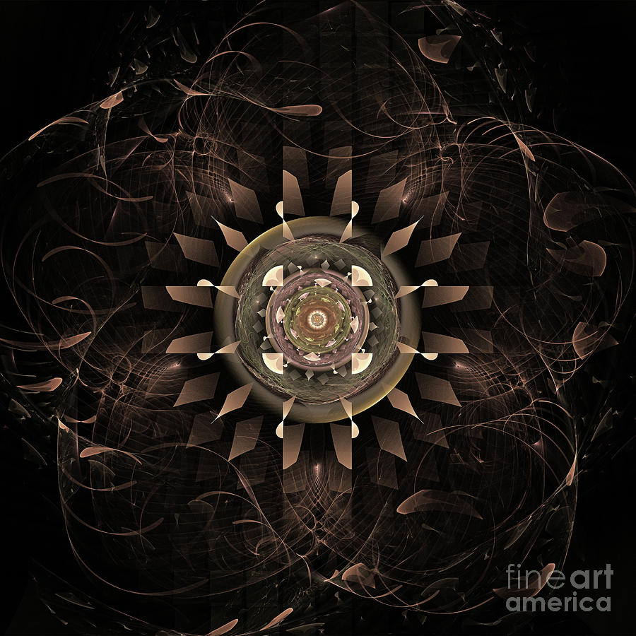 Clockwork Digital Art  - Clockwork Fine Art Print