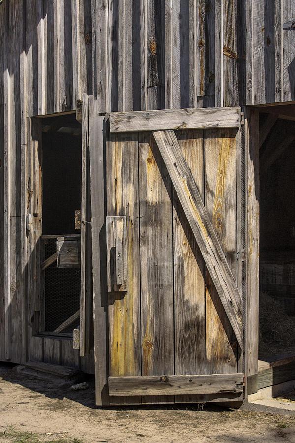 Close The Barn Door Photograph