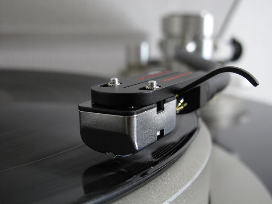 Close Up Of Record Player Photograph